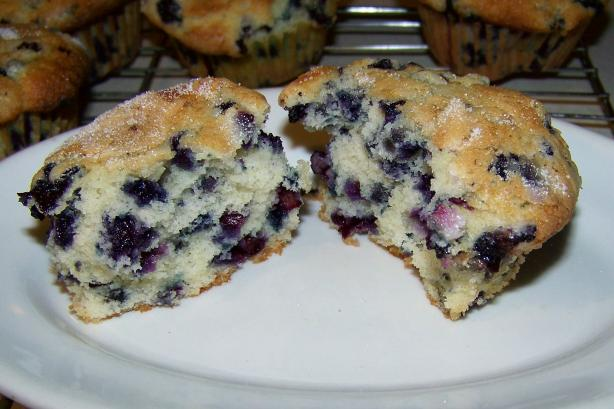 Mimi's Huge Blueberry Muffins