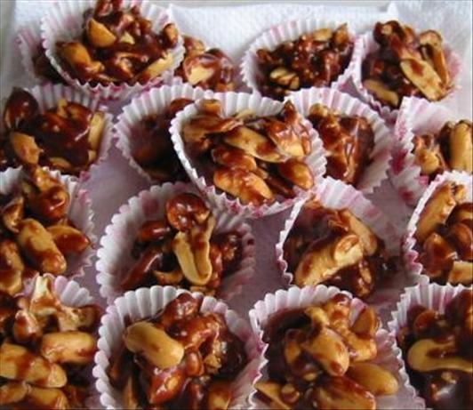 No-Bake Chocolate Peanut Butter Treats