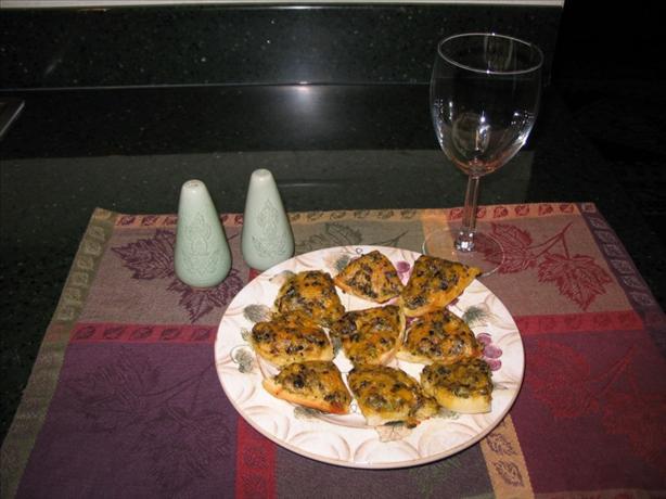 Cheesy English Muffin Appetizer