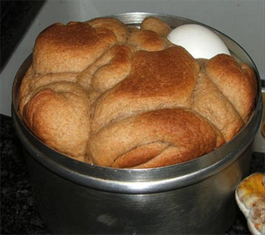 Shabbat Breakfast Bread (Kubaneh)