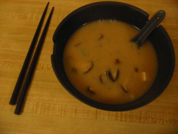 Shitake Miso Soup