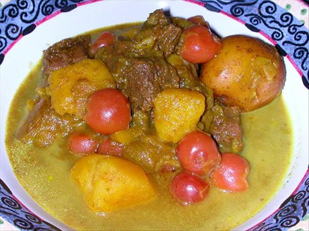 Steak & Black Cherry Curry