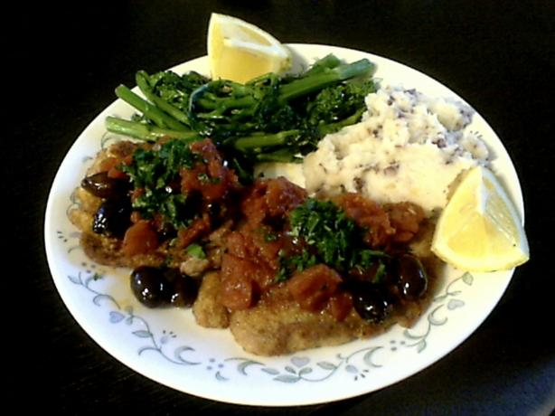 Roman Veal Scaloppine