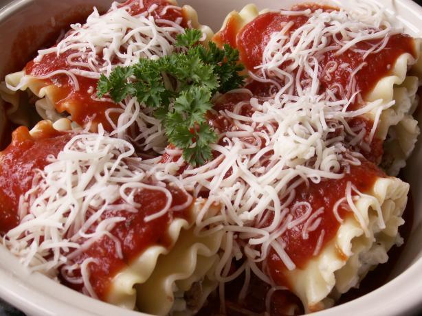 Cynna's Lasagna Roll-ups W/ Italian Sausage