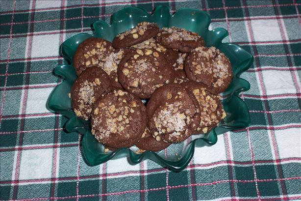 Pecan Rolo Cookies