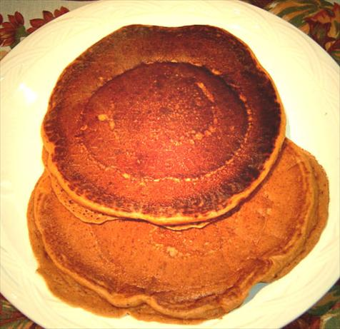Pumpkin Spiced Pecan Pancakes