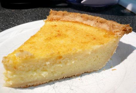 Simple Buttermilk Pie