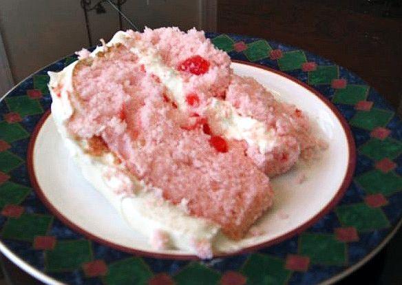 Easy Cherry Cake