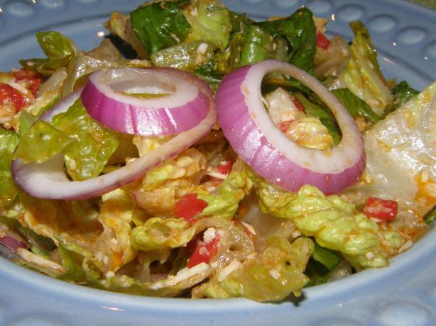 Jerry's Italian Lettuce Salad