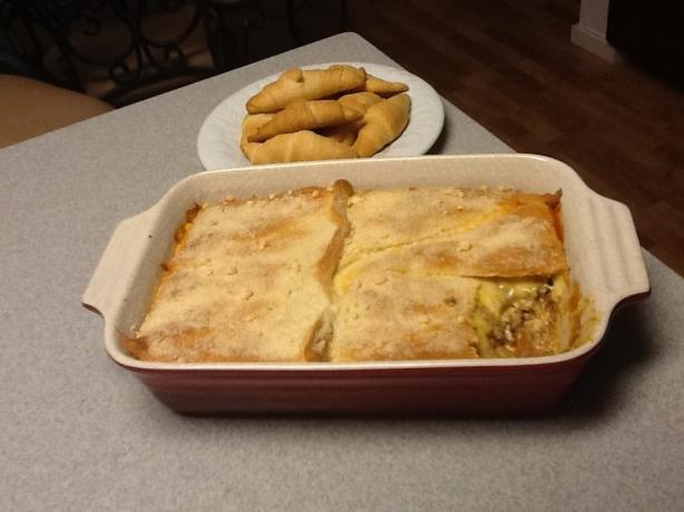 Crescent Roll Lasagna