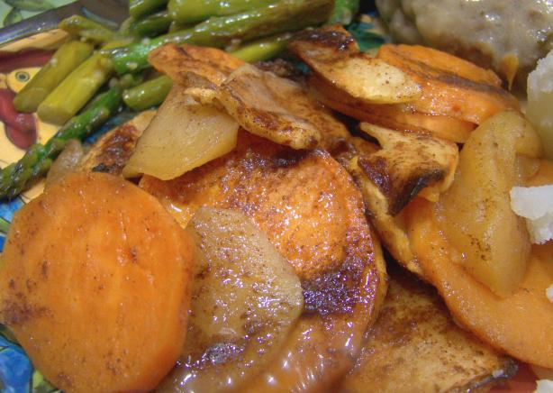 Apple and Yam Side Dish
