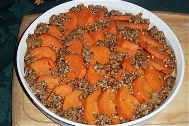 Streusel Sweet Potatoes