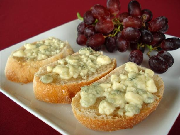 Honeyed Blue Cheese Toast