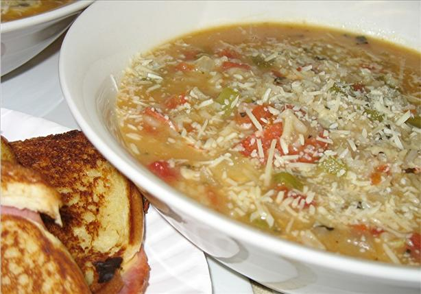 Italian Pizza Soup