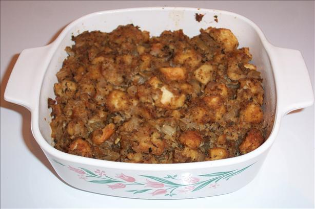 Old Bay Crabmeat Stuffing