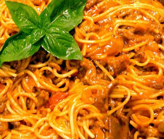 Saucepan Spaghetti