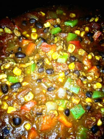 Black Bean and Soyrizo Chili