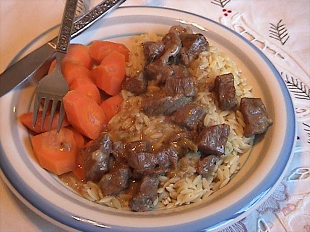 Char's Beef Orzo