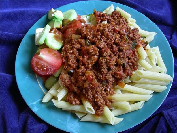 Thick & Meaty Spaghetti Sauce