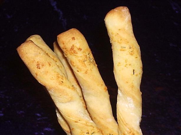 Rosemary-Garlic Breadsticks