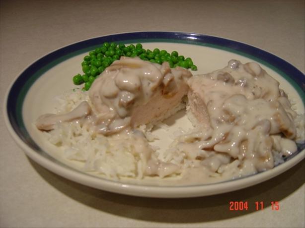 Mushroom Chicken Breasts
