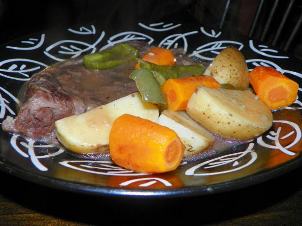 Simmering Steak