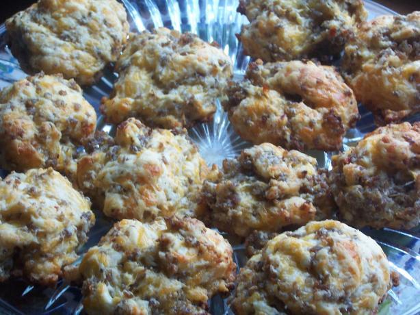 Sausage Breakfast Cookies