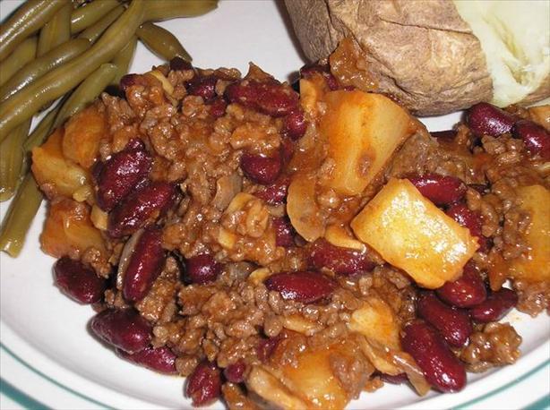 Hawaiian Beef Casserole