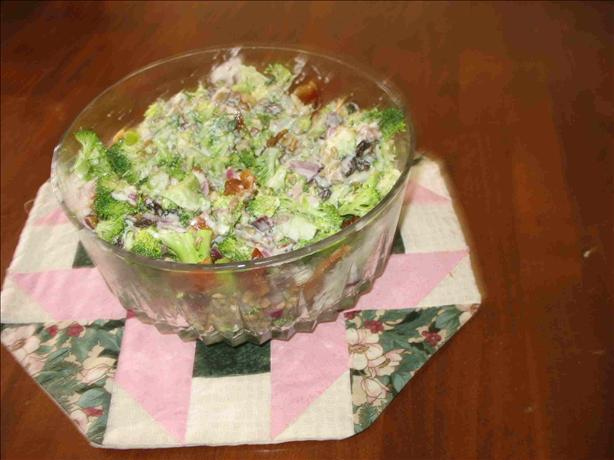 Nutty and Sweet Broccoli Salad