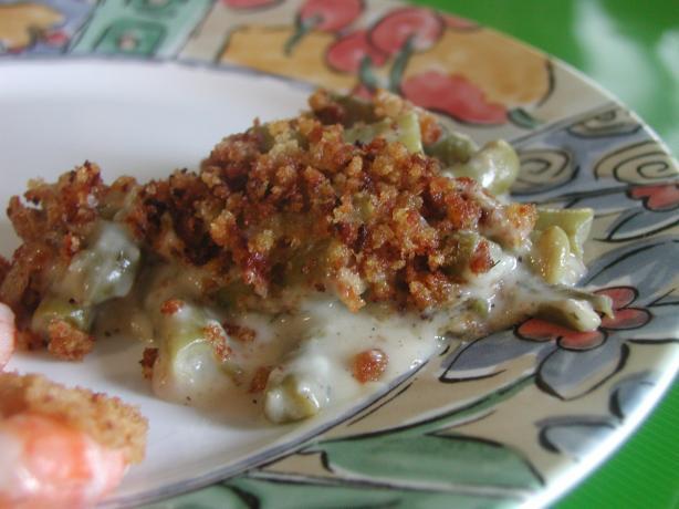 Bechamel Green Bean Casserole