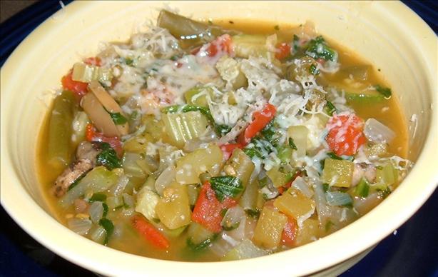 Decadent Veggie Soup