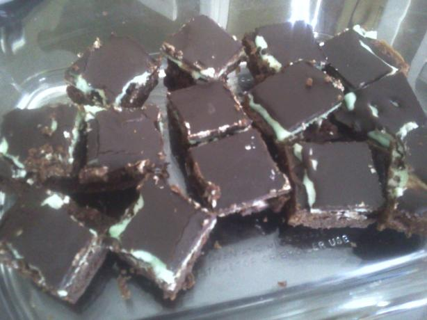 Chocolate Peppermint Bars