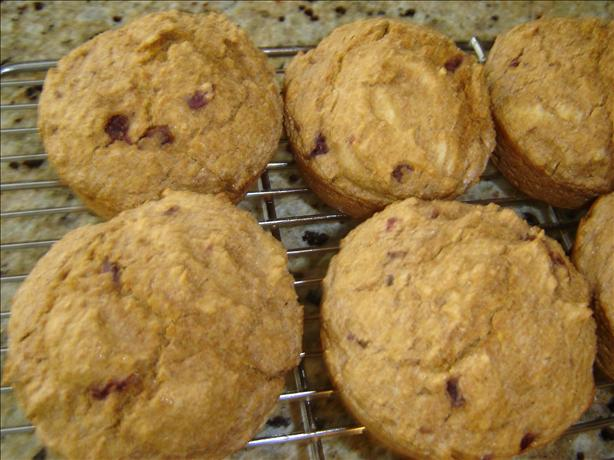 Super Easy Orange Cranberry Bran Muffins