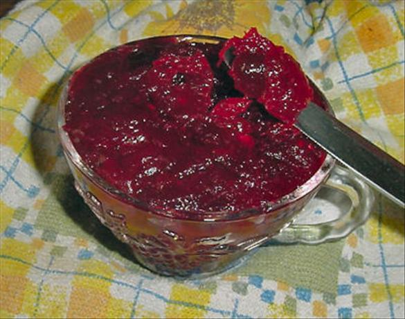 Triple Cranberry Conserve