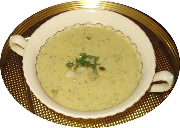 Creamy Cajun Zucchini and Potato Soup