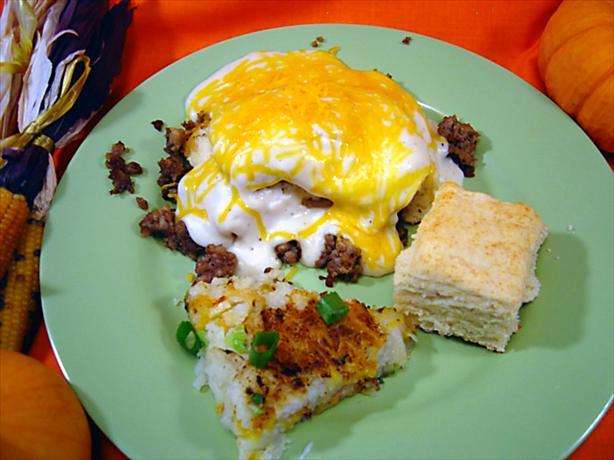 Breakfast Slop (copycat Country Biscuit Breakfast)