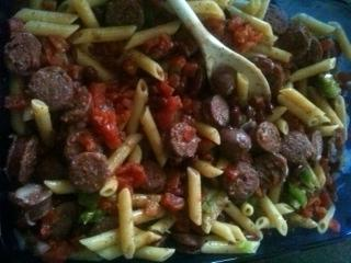Pasta Fazool (Pasta and Beans With Sausage)