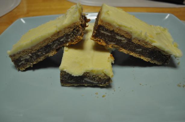 Caramel Slice Squares