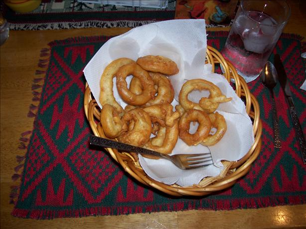 Hubby's Favorite Onion Rings