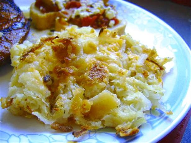 Creamy, Rich Ranch Potatoes With Cheese