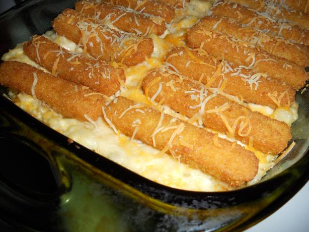 """it's a Keeper!"" Fish Stick Casserole"