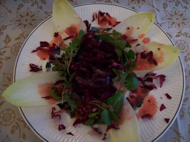 Simple, Beautiful Beet Salad