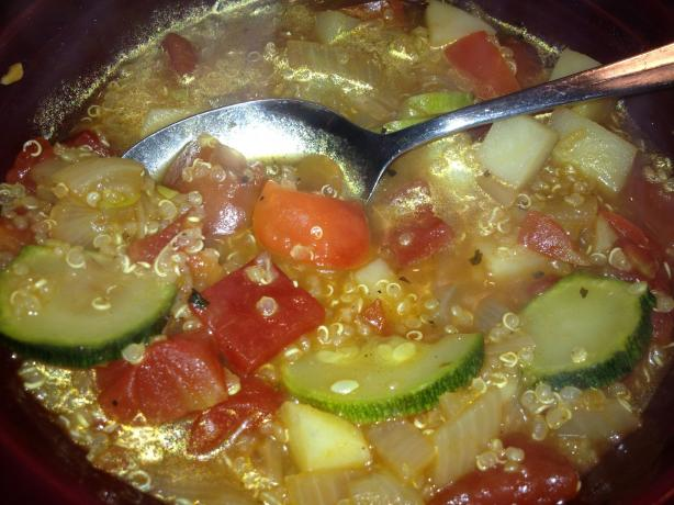 Ecuadorean Quinoa and Vegetable Soup
