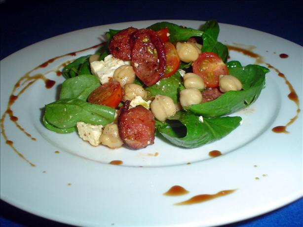 Chorizo and Chickpea Salad