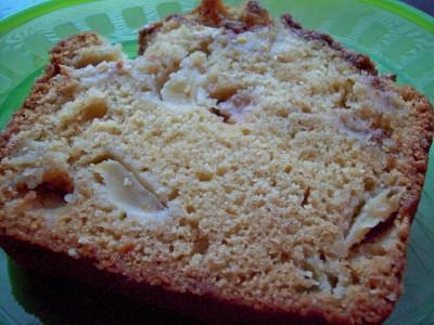 Luscious Apple Bread