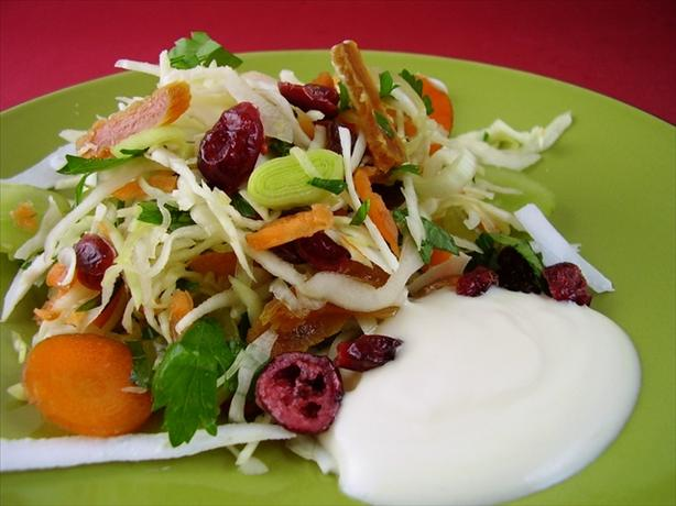 Cranberry Fruit Coleslaw