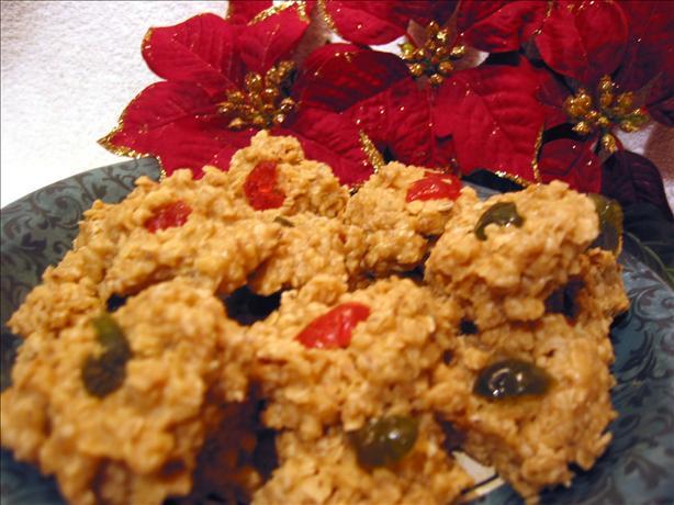 Butterscotch Cookies (No Bake)