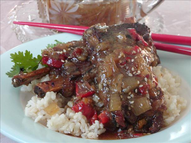 Spareribs Sweet and Tender (Crock Pot)