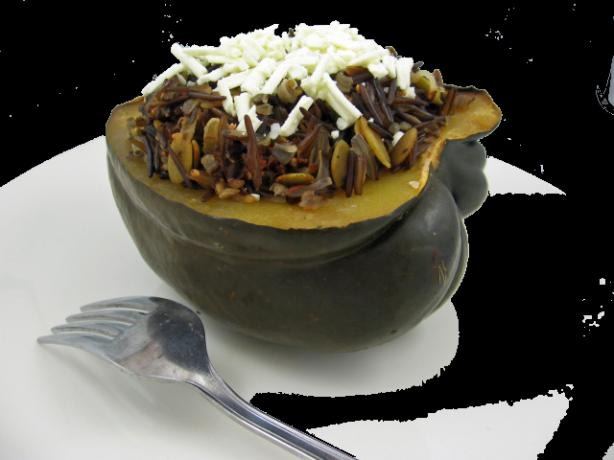 Italian Stuffed Acorn Squash-Crock Pot