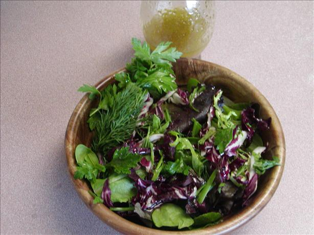 Truffle Dressing/ Herb Salad